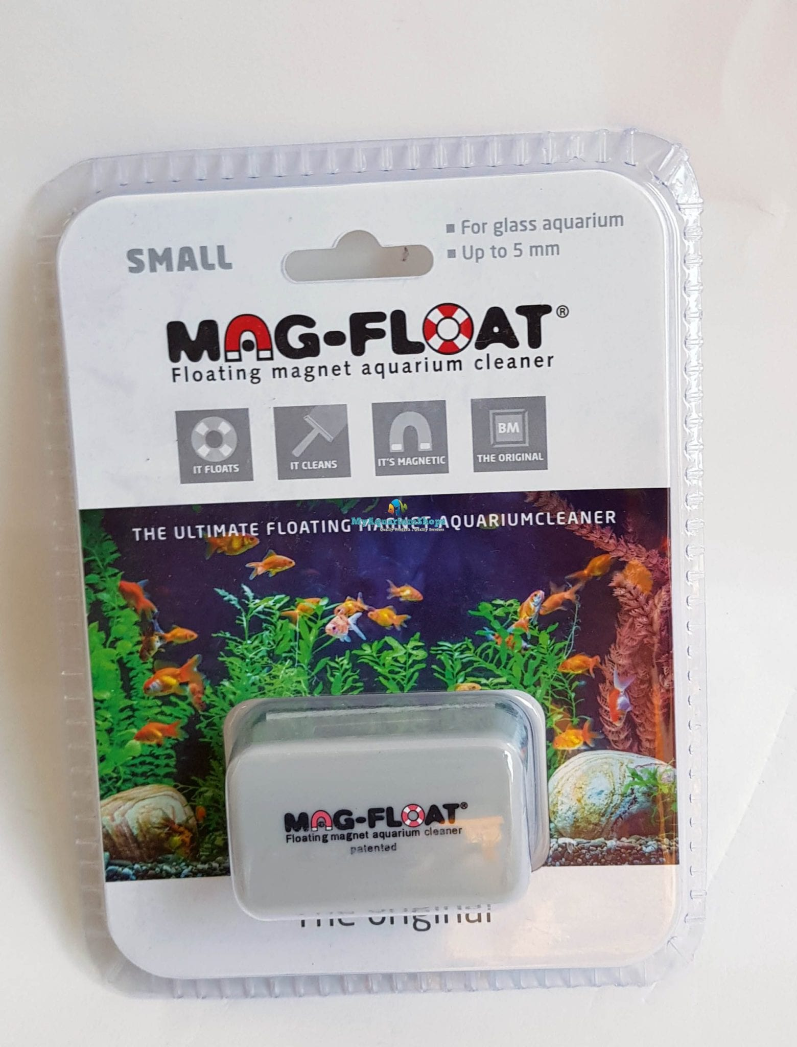 magfloat small aquarium magnet cleaner